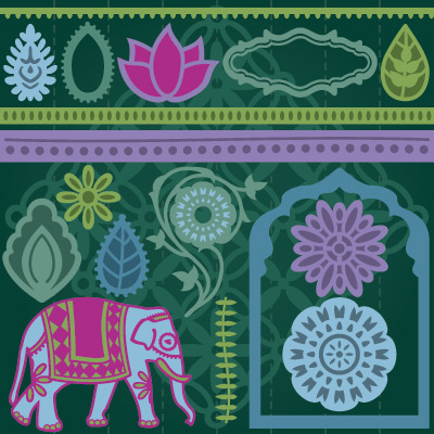 Exotic Indian Treasures SVG Collection