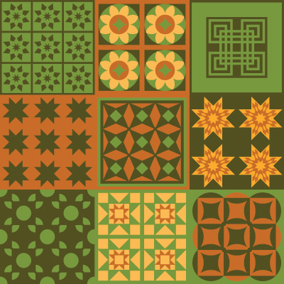Grandma's 12x12 Quilts SVG Collection