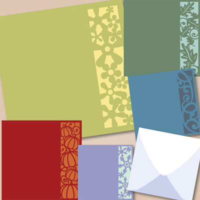 Salimah's Square Cards SVG Collection