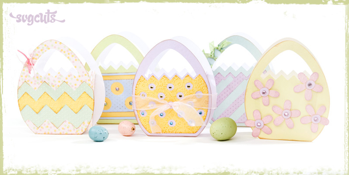 Easter Egg Treat Bags SVG Kit