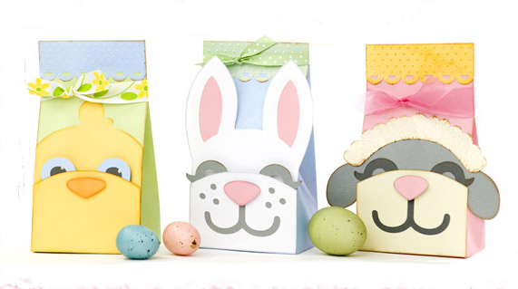 Spring Pals Treat Sacks SVG Kit