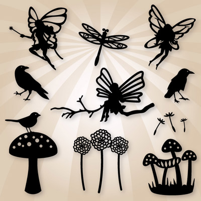 Woodland Fairies SVG Collection