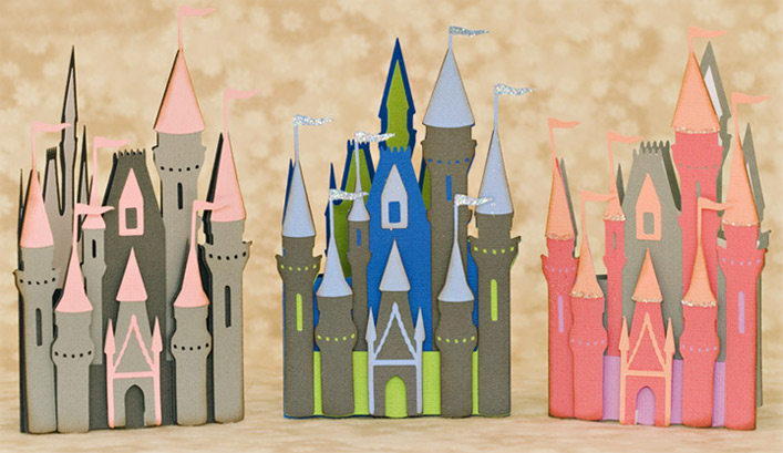 Fairy Tale Castle SVG Kit