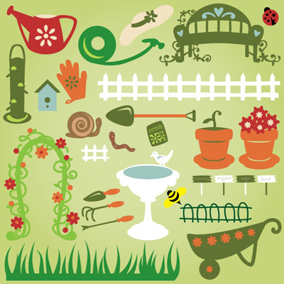 My Happy Garden Hideaway SVG Collection