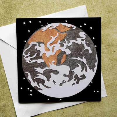 Mother Earth Notecard SVG Kit