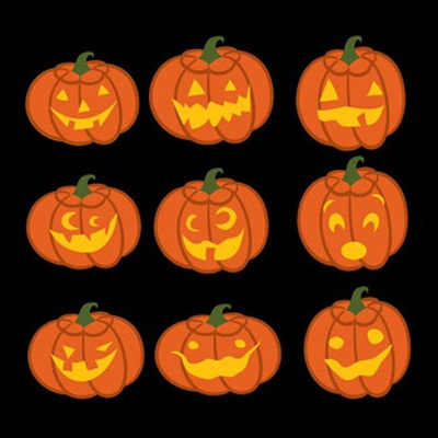 Jack O' Lanterns SVG Collection