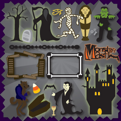Monster Mash SVG Collection