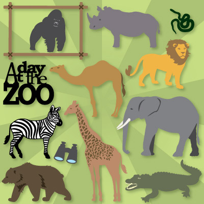 Zoo Animals SVG Collection