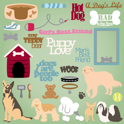 Doggie Pals SVG Collection Part 1