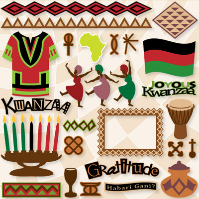 Joyous Kwanzaa SVG Collection