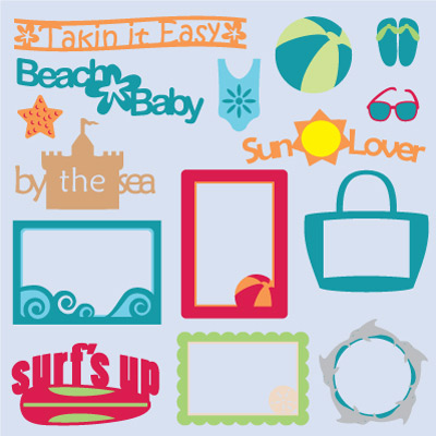 Beach Bum SVG Collection Part I