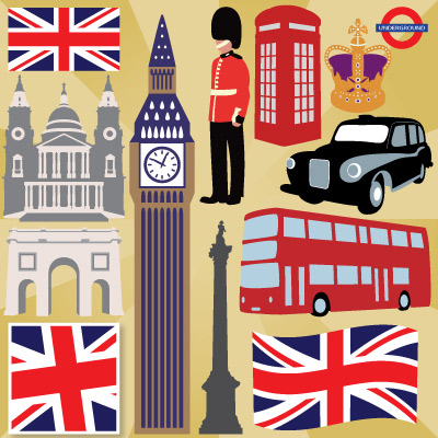 Destination London SVG Collection