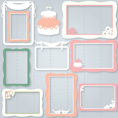My Big Day Frames SVG Collection