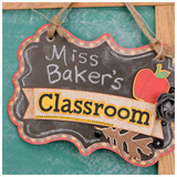 Miss Baker's Classroom SVG Kit