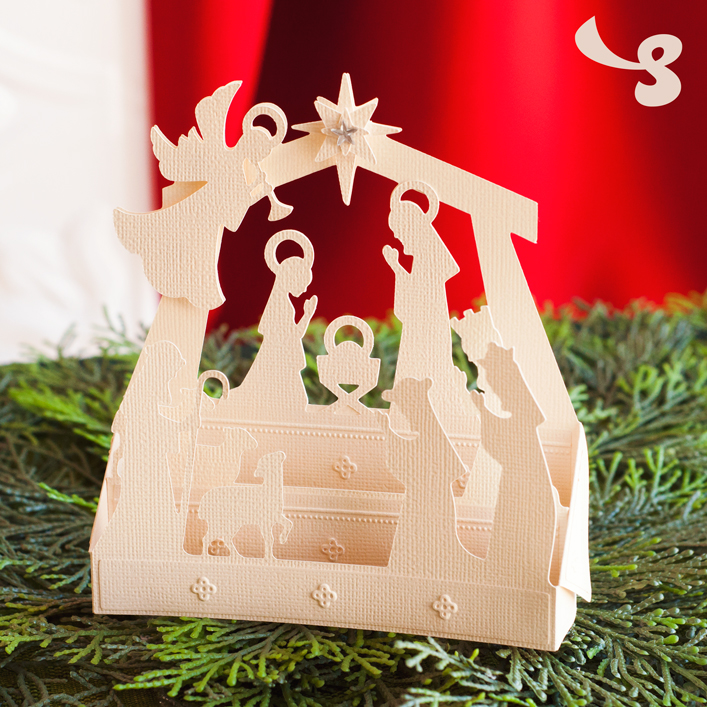 Nativity Box Card