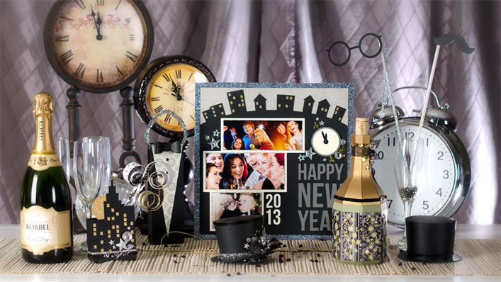 New Year's Eve SVG Kit - Click Image to Close