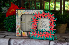Oversized Floral Box Card
