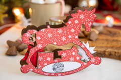 Rocking Horse Box Card