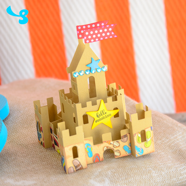 Sand Castle Box Card