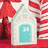 Santa's Village Advent Calendar SVG Kit