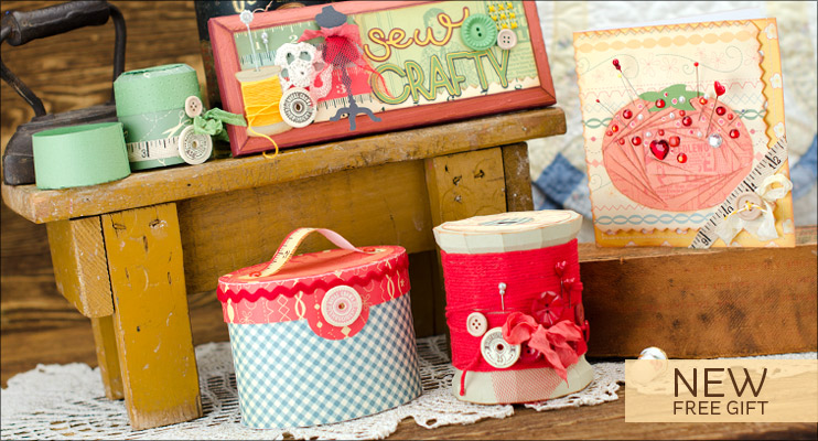 Sew Crafty SVG Kit - Click Image to Close
