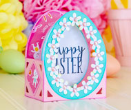 Simple Easter Egg Box Card