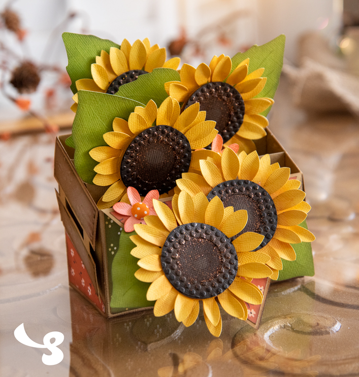 Sunflowers Box Card