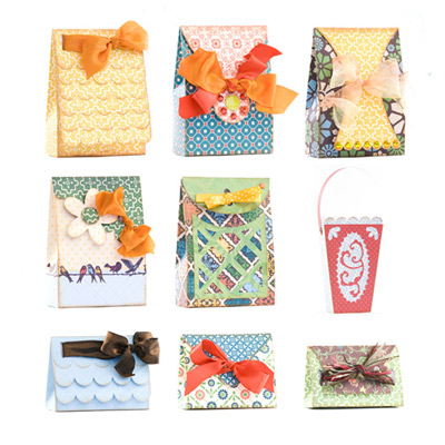 Tied Surprise Gift Boxes SVG Collection