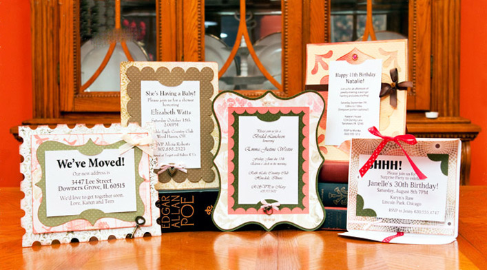 Elegant Framed Invitations SVG Kit