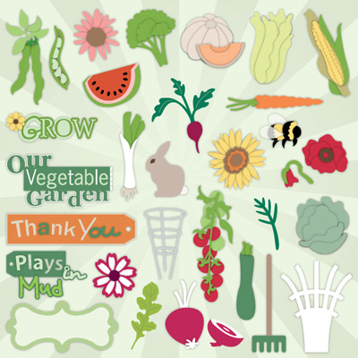 Veggie Garden SVG Collection Part 1