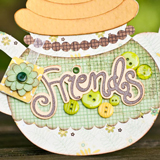 Chamomile Friendship Cards SVG Kit