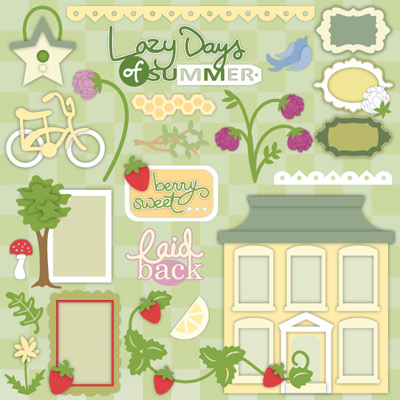 Strawberry Lane SVG Collection