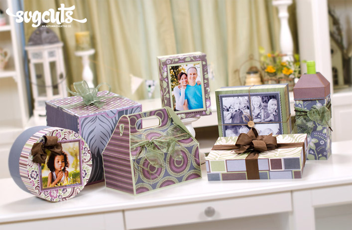 Classic Gift Boxes SVG Kit