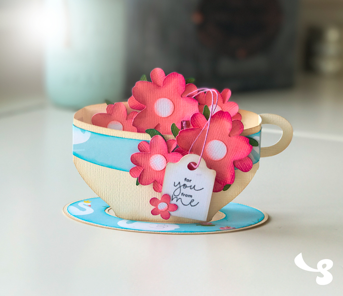 Teacup Box Card