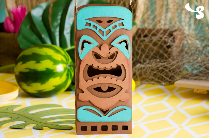 Tiki Bag SVG Kit