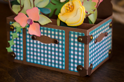 Trunk of Wildflowers Box Card