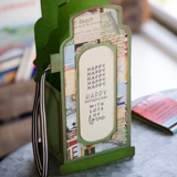 Vintage Gas Pump Box Card