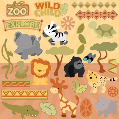 Wild Child SVG Collection