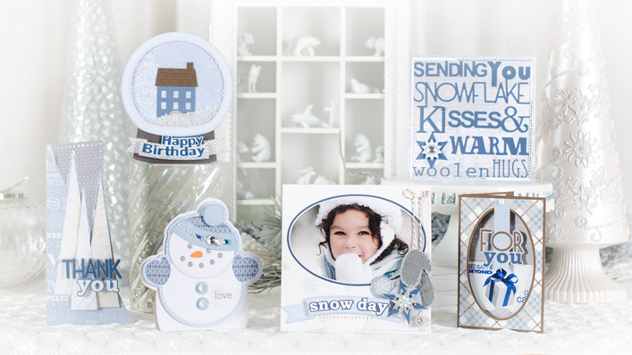 Everyday Winter Cards SVG Kit