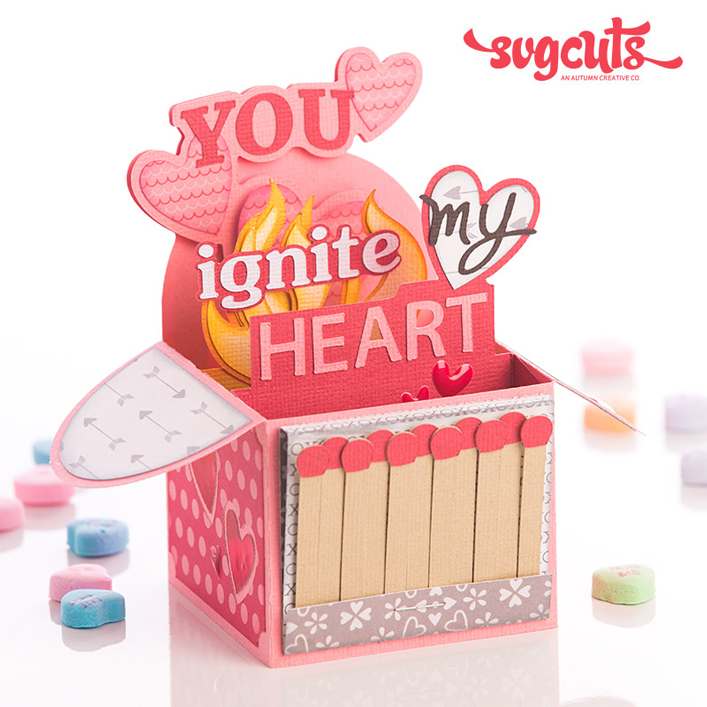 You Ignite My Heart Box Card